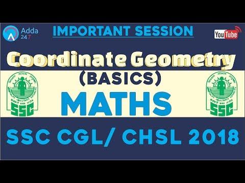 Adda247 Night Class | Basics Of Coordinate Geometry For SSC CGL/CHSL 2018