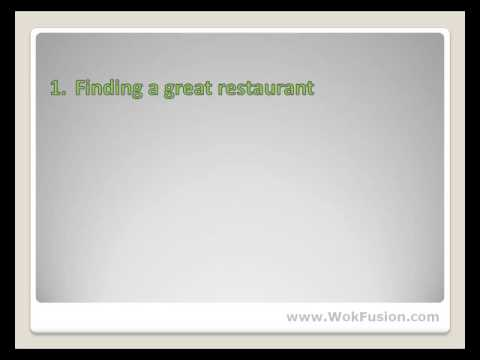 Seven Step to Eating Healthy at Chinese Restaurants