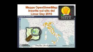 OpenStreetMap, mappe a contenuto libero - Linux Day 2010