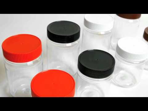 Clear PET (Plastic) Jars