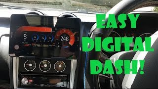 VQ350sx - Android Radio with Shadow Dash Gauges and