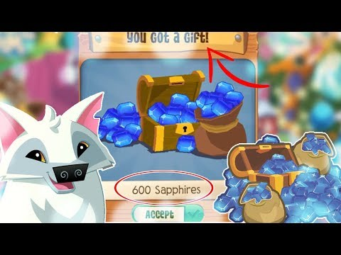 FREE SAPPHIRES for this day ONLY |Animal Jam Play Wild
