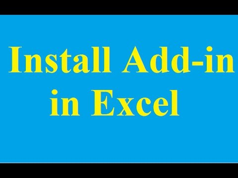 How to Install and uninstall the Add-in in Excel 2010 - Betdownload.com