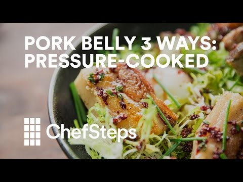 Pork Belly 3 Ways: Pressure-Cooked (Part 2 of 3)