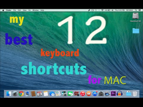 12 of my best keyboard shortcuts for mac