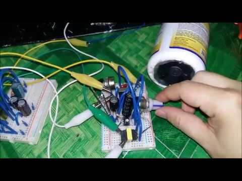 Audio amplifier noise easy removal near 100% perfect  - LM386 circuit experiment
