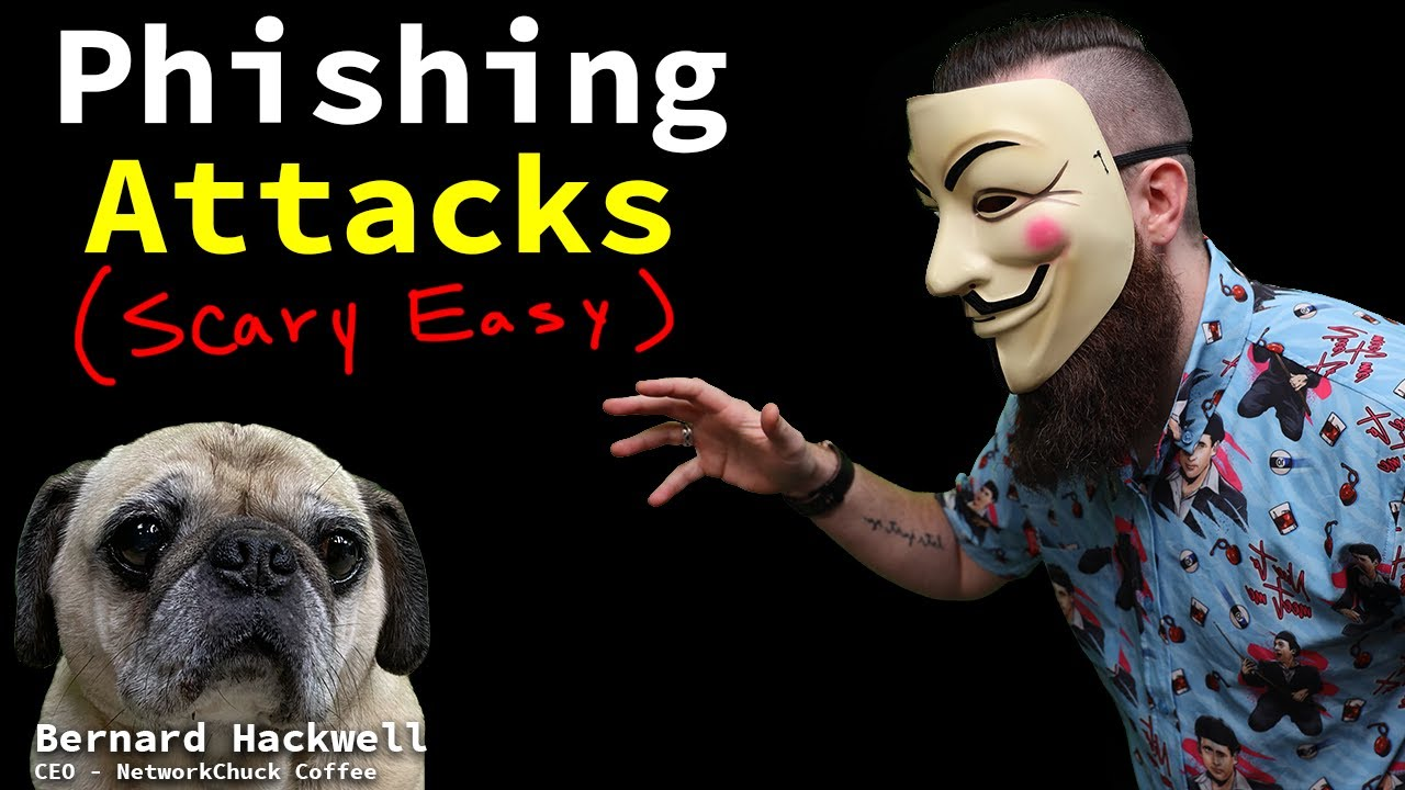 Phishing attacks are SCARY easy to do!! (let me show you!) // FREE Security+ // EP 2