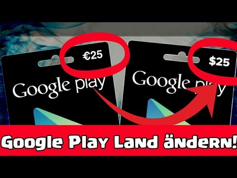 € ➡💲 | LAND ÄNDERN im Google Play Store! | Euro zu Dollar ändern | Tutorial [Deutsch/German]