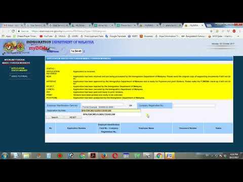 How to Check Malaysia Calling Visa