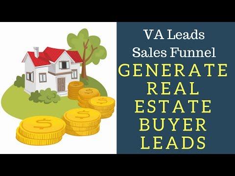 Realtors How To Generate VA Real Estate Buyer Leads