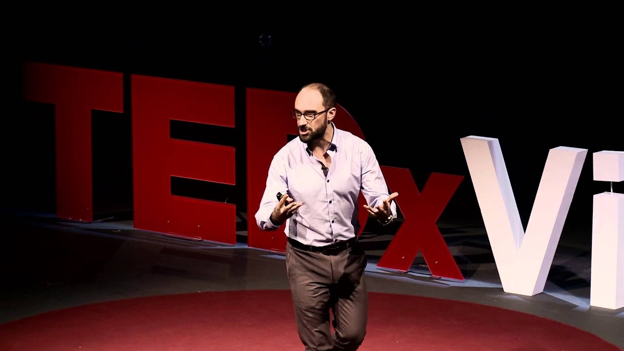 """Why do we ask questions? Michael """"Vsauce"""" Stevens at TEDxVienna"""