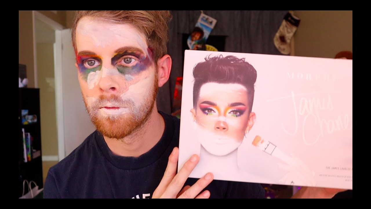FOLLOWING A JAMES CHARLES TUTORIAL!