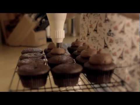 Football Cupcake Tutorial- Mini Baker Video