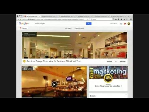 San Jose Google Street View for Business 360 Virtual Tour