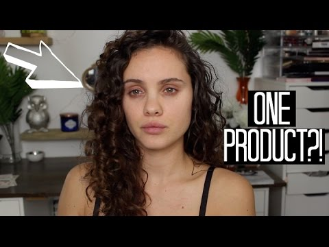 One Product Curly Routine?! | Maui Moisture First Impression