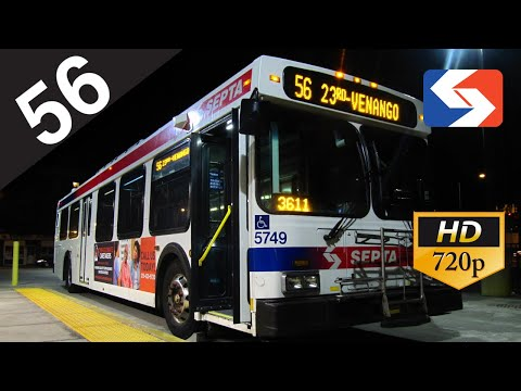 SEPTA Ride: 2004 New Flyer D40LF #5726 on route 56 to Bakers Centre