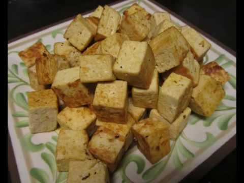 Tofu - How to Pan Sear WITHOUT OIL