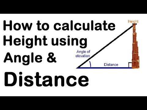 Calculate Height Using Angle and Distance by Learning Technology