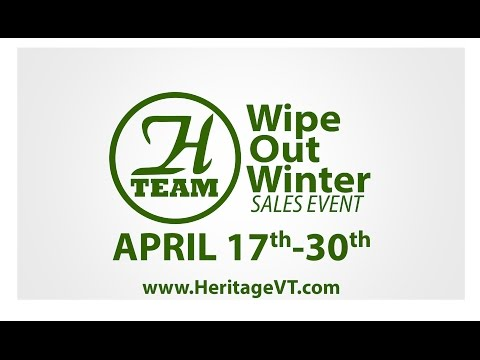 H-Team's Wipe Out Winter Sales Event | April 2015
