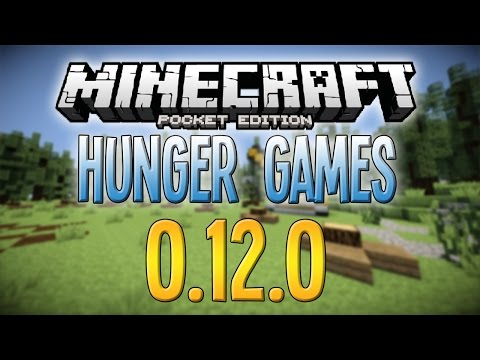 Minecraft PE 0.12.0/0.12.1 - Hunger Games Survival Gameplay!