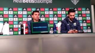 Asier Garitano, tras la derrota del Leganés frente al Betis