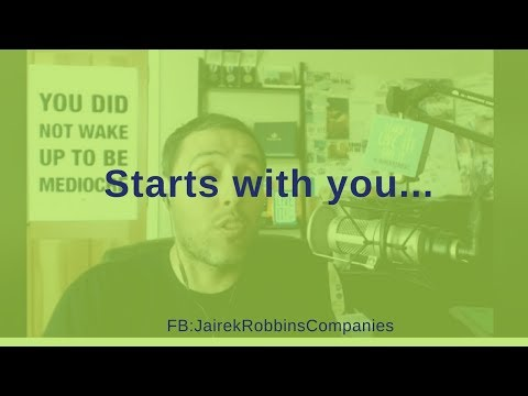 FB Live Repost: Starts with you...