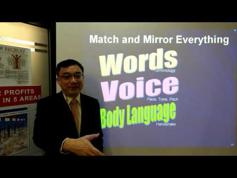 Build Trust and Rapport with NLP Match and Mirror