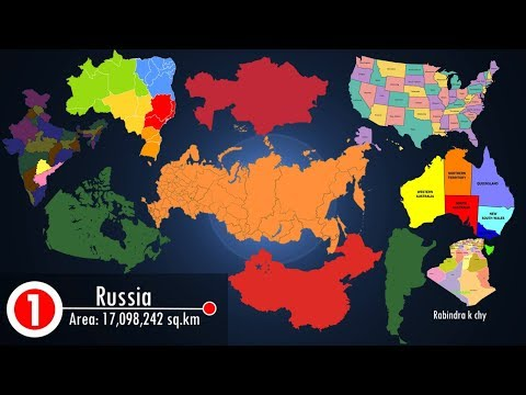 Top 10 Biggest Countries In The World HD