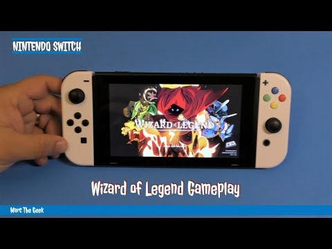 Nintendo Switch: Wizard of Legend Gameplay