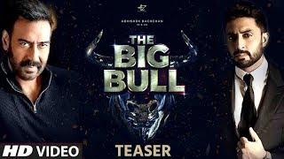 The Big Bull - Teaser | Abhishek Bachchan | Ajay Devgn | An Unreal Story | Kookie Gulati