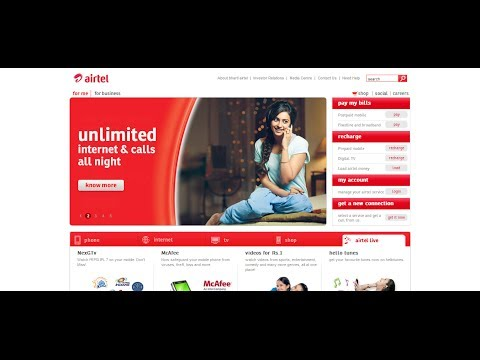 How To Change Airtel Postpaid Plan (my plan) on 'Airtel My Account'
