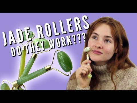 Jade Face Roller Review and Demo