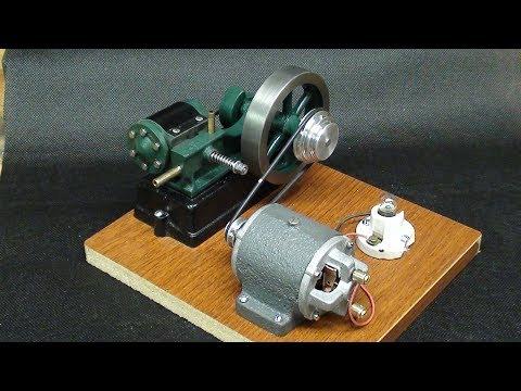 Pair the Dynamo with Stuart Engine Tips #439 tubalcain