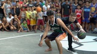 Professor Wrecks Ankles in Philippines Hood