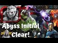 Abyss Of Legends Initial Clear Day 1 Live Marvel Contest Of Champions