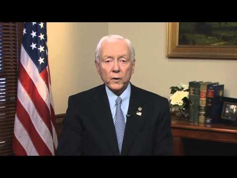 Sen. Finance Committee Chairman Orrin Hatch on IP Rights in the TPP