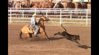Calf Roping - 1st Go Round Slack - Cheyenne  Rodeo - July 19, 2017