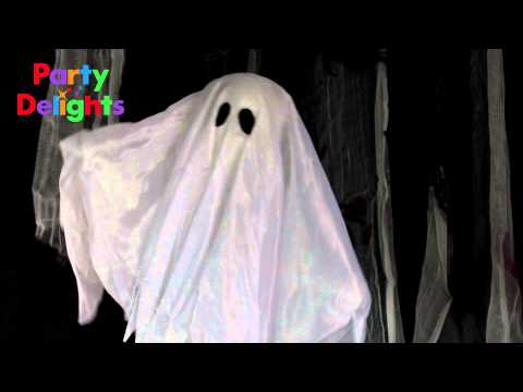 Moving Ghost - 75cm Halloween Prop