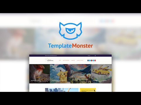 Pokemania - Games WordPress Theme #60087