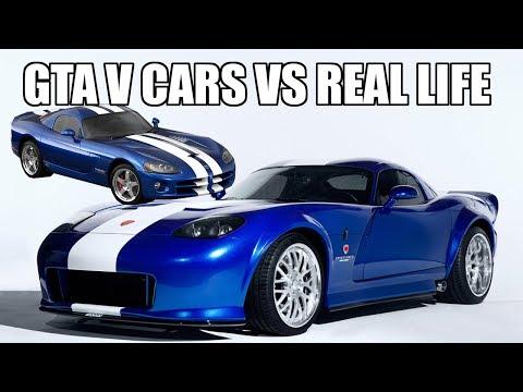 GTA V Cars VS Real Life