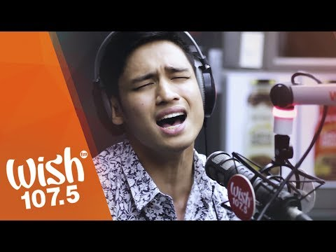 Michael Pangilinan sings