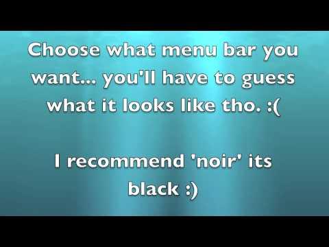 Customize Snow Leopard Menu Bar