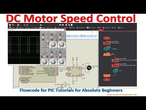 Flowcode Beginners Tutorial -16- DC Motor Speed Control