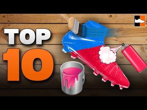 Top 10 Custom Football Boots! Best Soccer Cleat Customisations