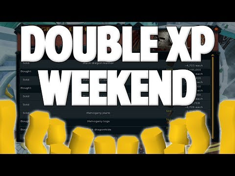 Runescape 2018 | Double XP Weekend - Money Making Methods!