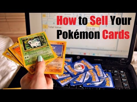 How to Sell Your Pokémon Cards