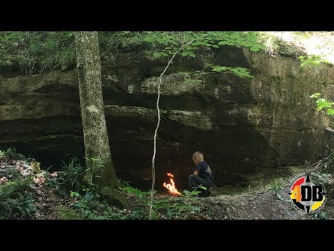Primitive Natural Shelter, Survival Skills | Passing the Knowledge
