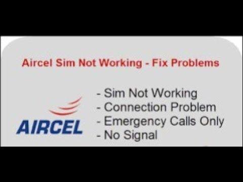Aircel UPC/MNP/Port out | Networt problem solved
