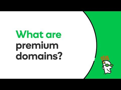 What Are Premium Domains? | Godaddy