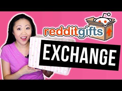 Surprise Unboxing! Reddit Gift Exchange Colors 2018   JEN TALKS FOREVER
